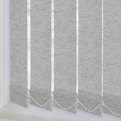 Replacement Vertical Blind Slats Bamboo Silver