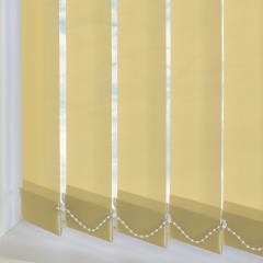 Replacement Vertical Blind Slats Bermuda Plain Sand