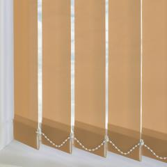 Replacement Vertical Blind Slats Bermuda Plain Sunlight