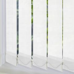 Replacement Vertical Blind Slats Dalia White