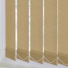 Replacement Vertical Blind Slats Linenweave Hessian