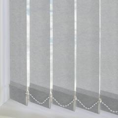 Replacement Vertical Blind Slats Linenweave Iron