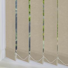 Replacement Vertical Blind Slats Linenweave Sand