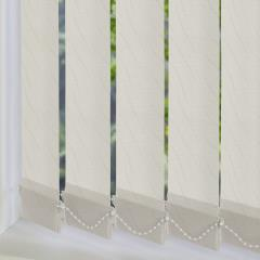 Replacement Vertical Blind Slats Luxari PVC Blackout Beige