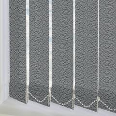 Replacement Vertical Blind Slats Marea Black