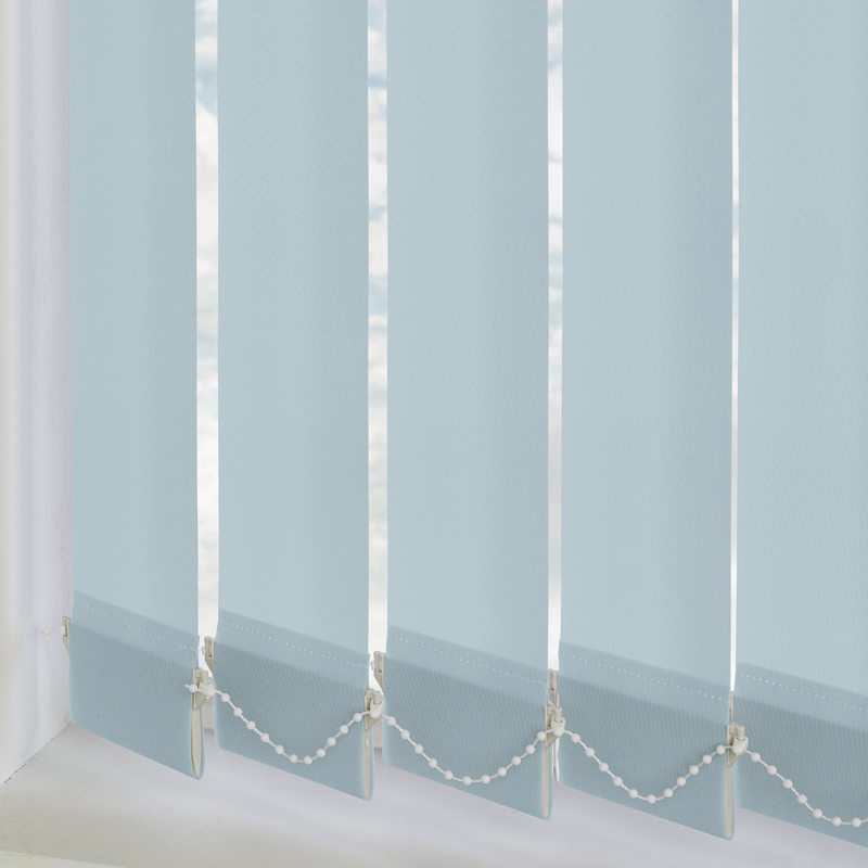 Vitra Blackout Aqua 89mm Vertical Blind Slats