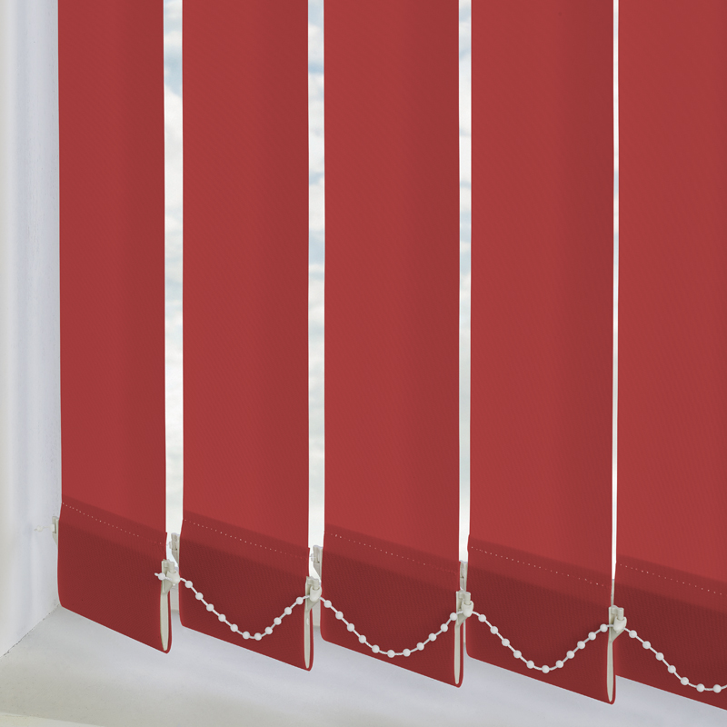 Vitra Blackout Flame 89mm Vertical Blind Slats