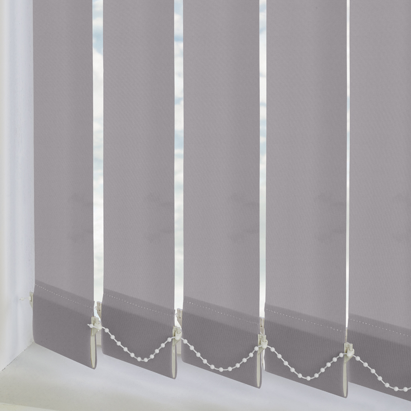 Vitra Blackout Flint 89mm Vertical Blind Slats