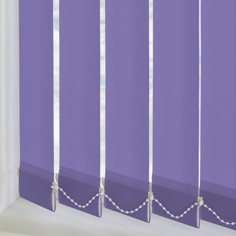 Vitra Blackout Kink Purple 89mm Vertical Blind Slats