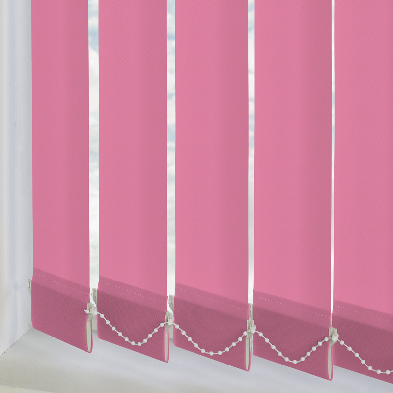 Vitra Blackout Kitty Pink 89mm Vertical Blind Slats