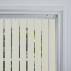 Rigid PVC Vertical Blinds Serino Blackout Vapour Rigid PVC