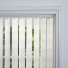 Rigid PVC Vertical Blinds Turilli Blackout Gesso Rigid PVC