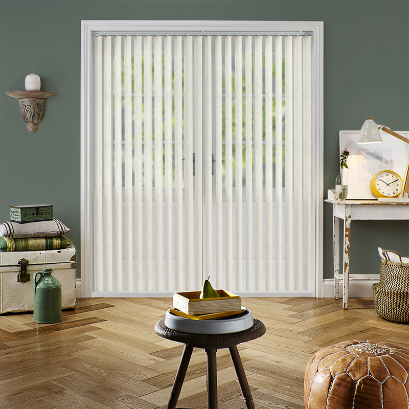 Vertical bathroom blinds