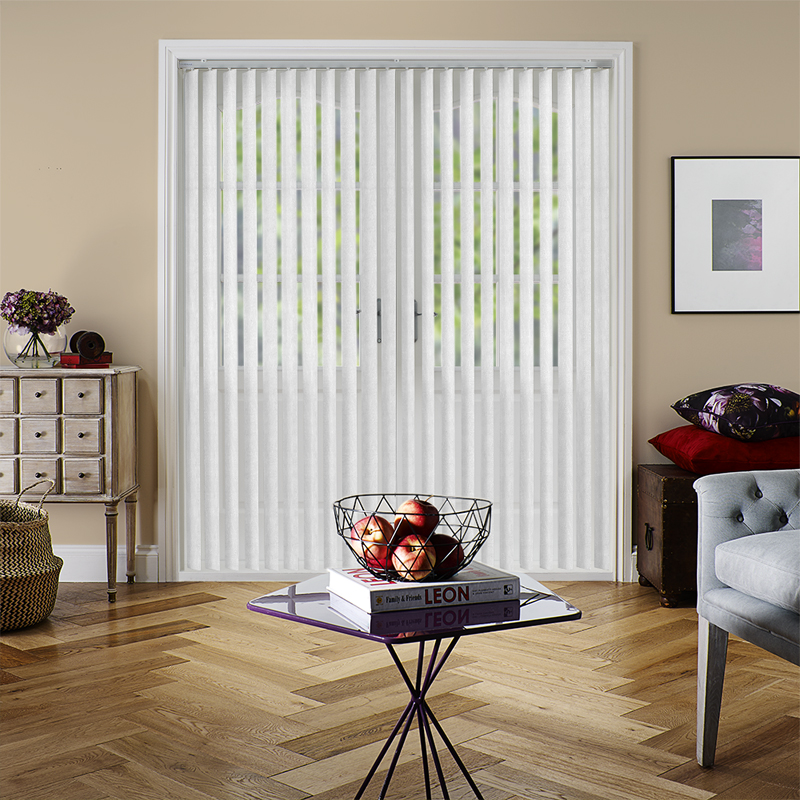 Amari Blackout White Rigid PVC