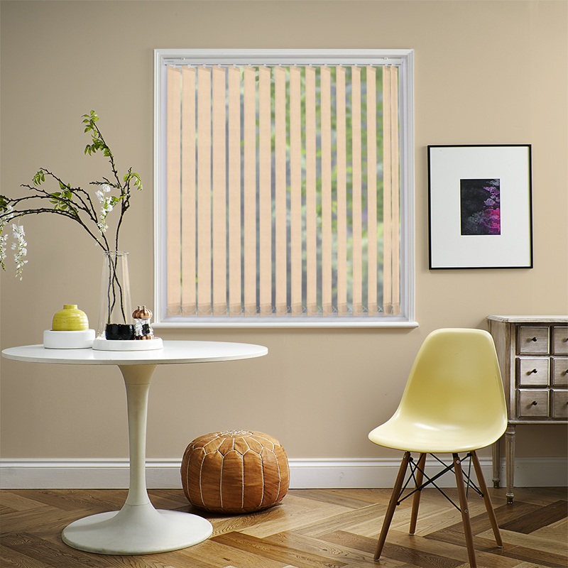 Asteria Beige 89mm Vertical Blind Slats