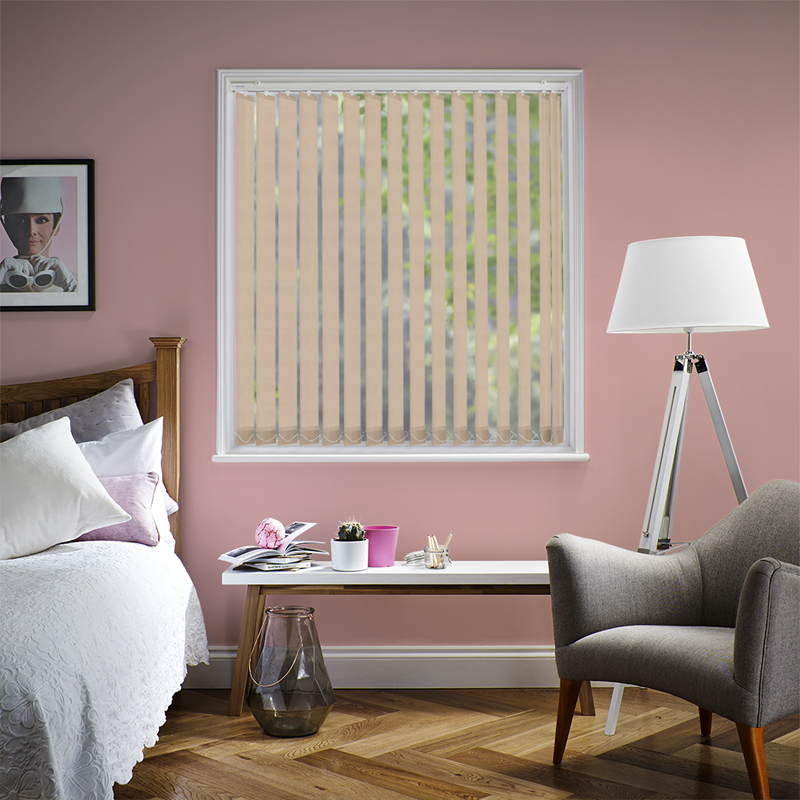 Asteria Cream 89mm Vertical Blind Slats