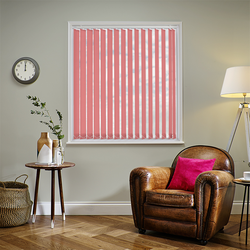 Pink Blinds. Made to Measure from Direct Blinds.