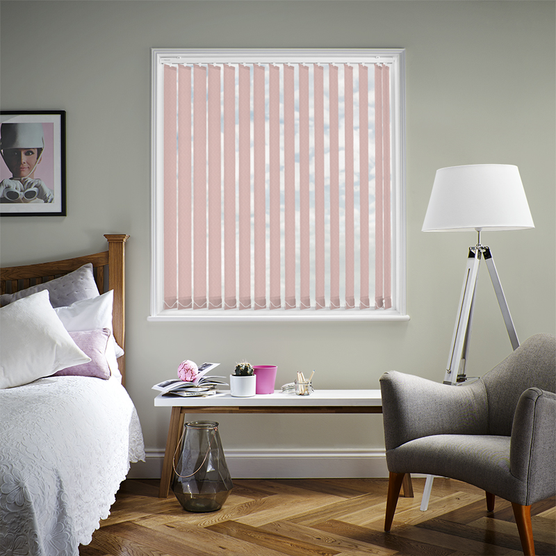 Calla Rose 89mm Vertical Blind Slats