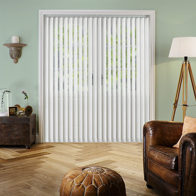 Carlo Cream 89mm Vertical Blind Slats
