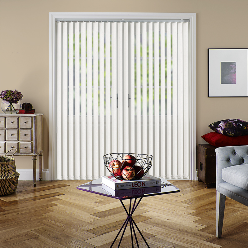 Cleo Beige 89mm Vertical Blind Slats