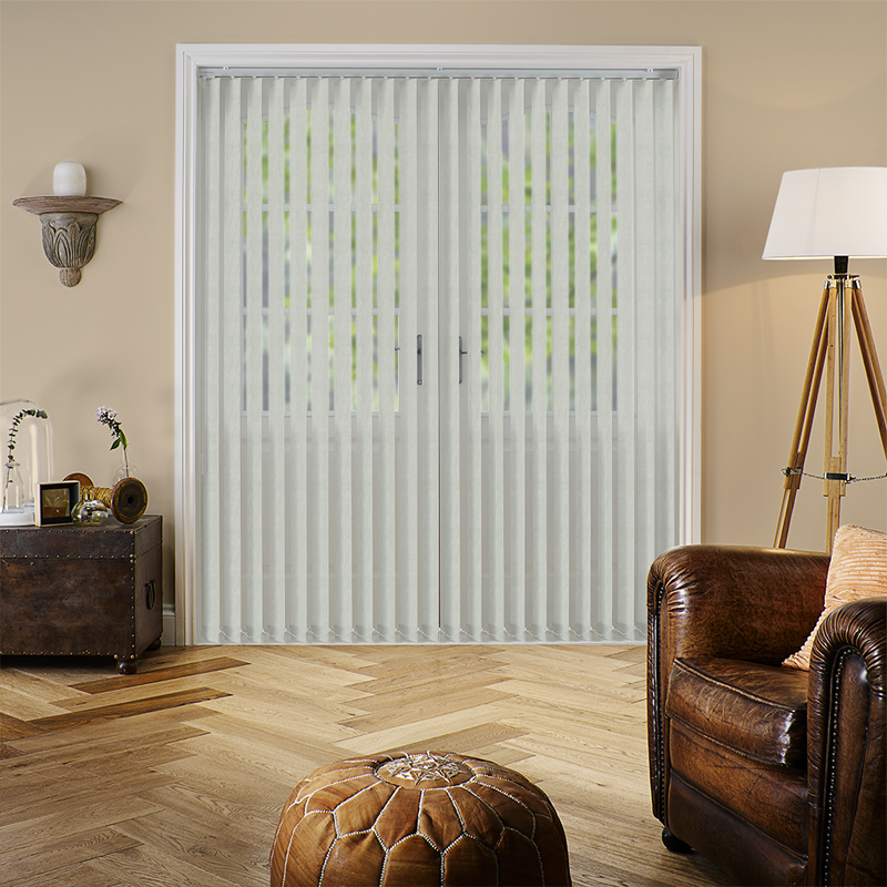 Dalia Cream 89mm Vertical Blind Slats