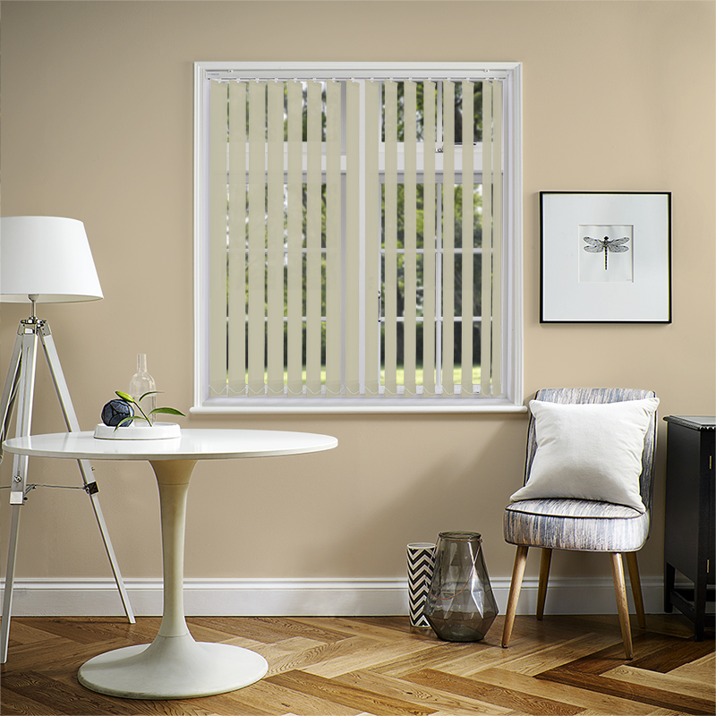 Genesis Grey 89mm Vertical Blind Slats