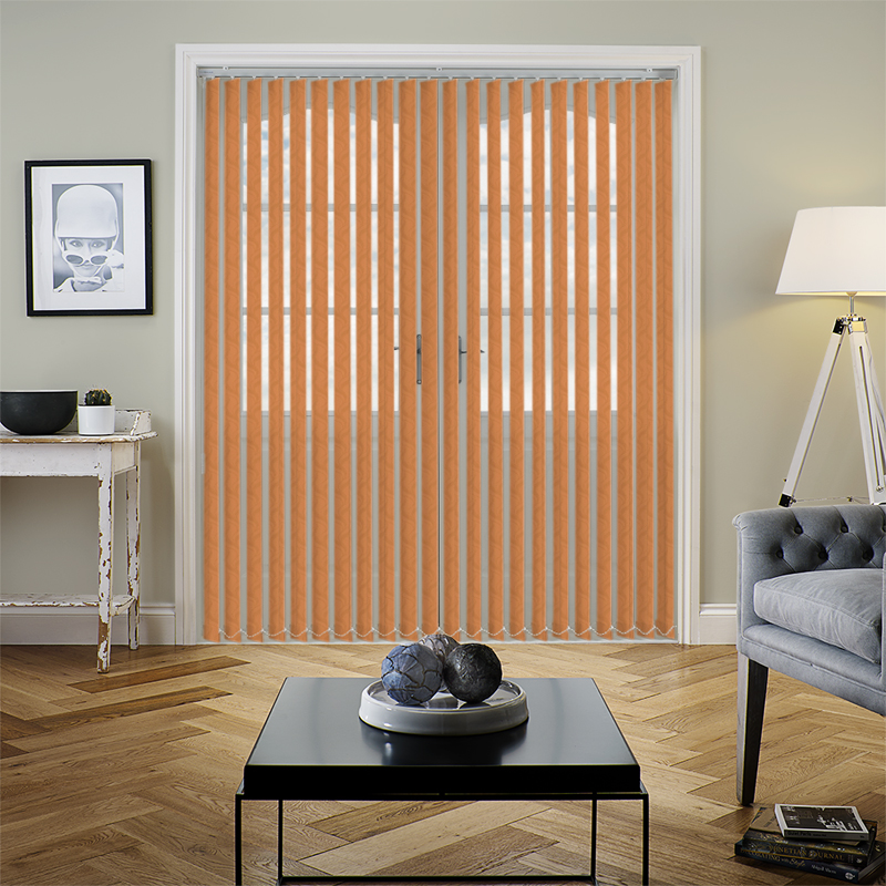 Jacamar Terracotta 89mm Vertical Blind Slats