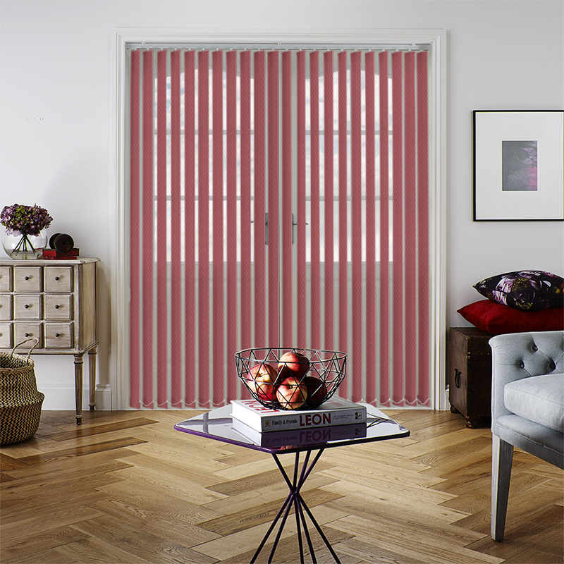 Red Vertical Blinds, Red Coloured Vertical Blinds, Made to Measure ...