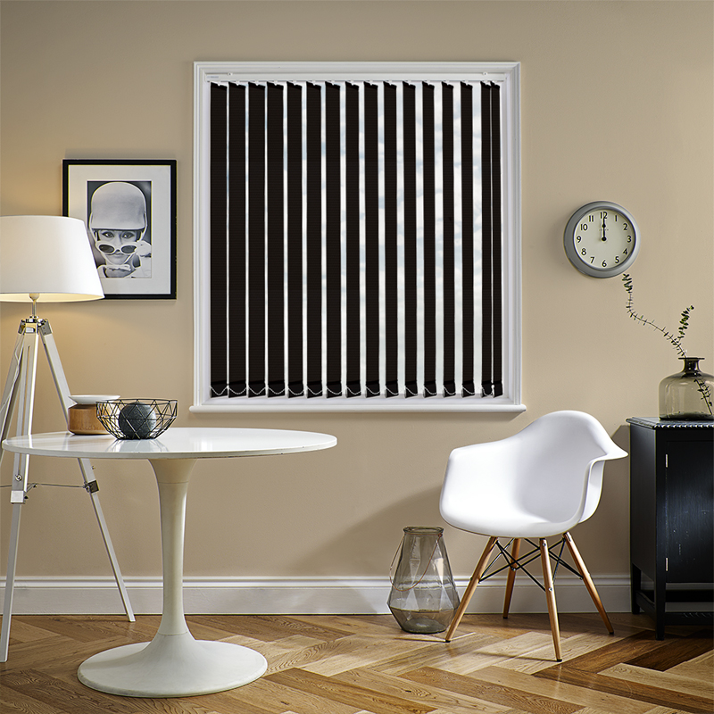 Unilux PVC Blackout Vertical Black