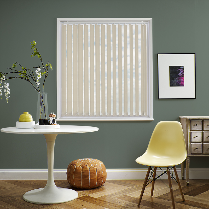 Unilux PVC Blackout Vertical Linen