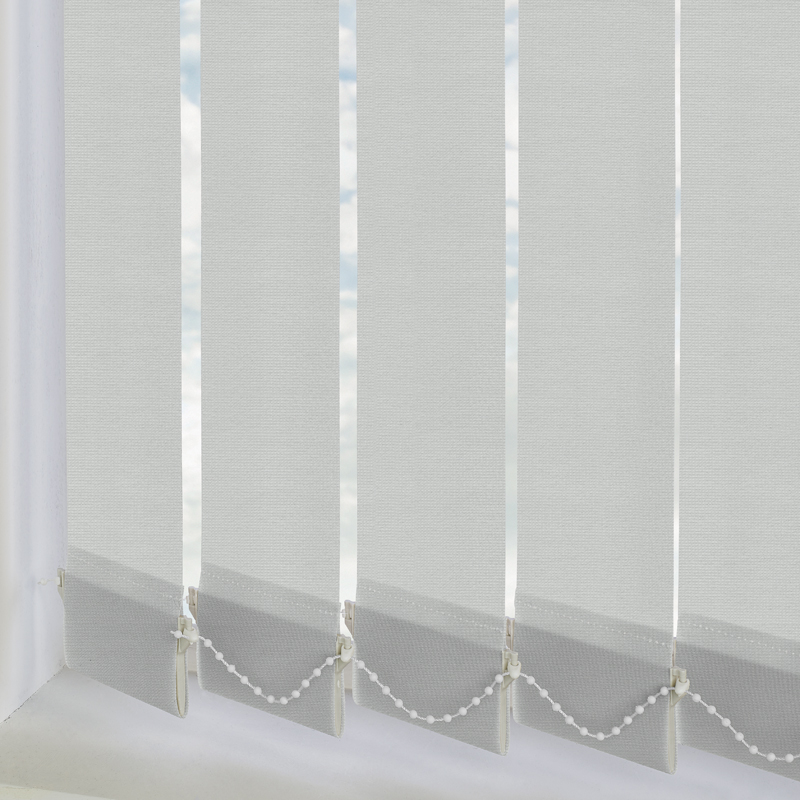 Atlantex Solar Silver 89mm Vertical Blind Slats