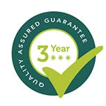3 Year Quality Assured Guarantee