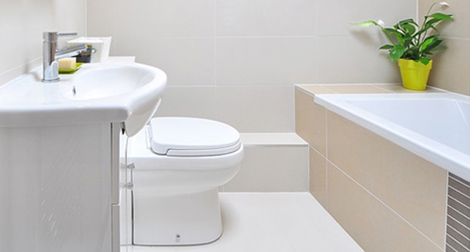 How to make small bathroom look larger