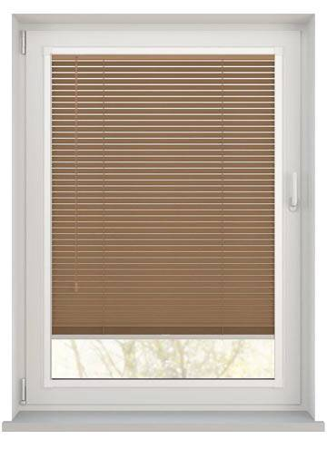 Perfect Fit Wooden Blinds Zambezi 25mm Honey