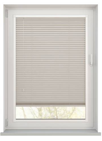 Perfect Fit Wooden Blinds Zambezi 25mm Stone