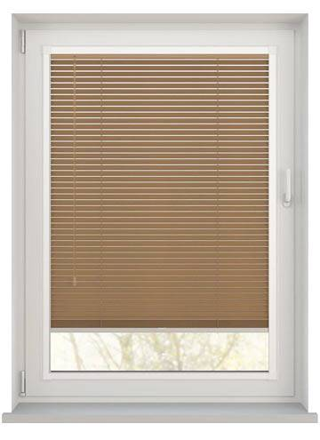 Perfect Fit Wooden Blinds Zambezi 25mm Tawny