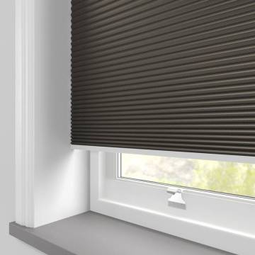 Clip and Fit Blinds Cellular Blackout Dark Grey