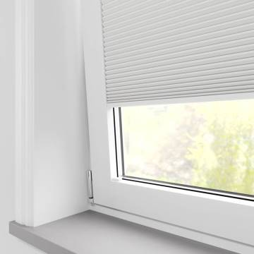 Clip and Fit Blinds Cellular Blackout Snowdrop White