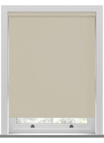 Roller Blinds Bella Blackout Almond