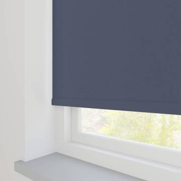 Roller Blinds Bella Blackout Indigo Blue