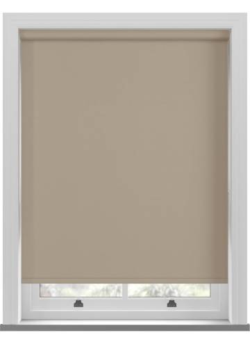 Roller Blinds Bella Blackout Natural Hessian