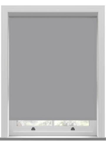 Roller Blinds Bella Blackout Pewter Grey