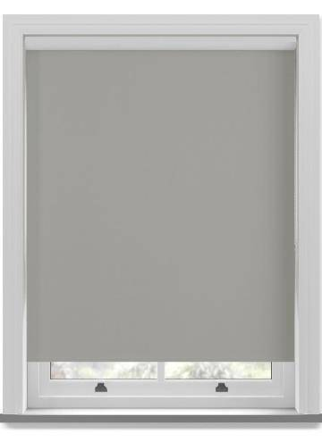 Roller Blinds Genesis Blackout Luxe Mid Grey