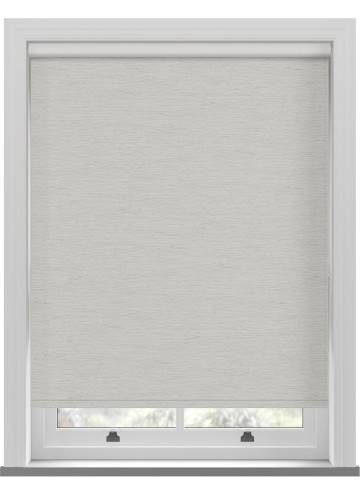 Roller Blinds Lintex PVC Blackout Whisp Grey White
