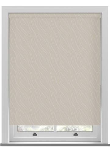 Roller Blinds Luxari PVC Blackout Beige