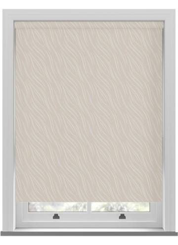 Roller Blinds Luxari PVC Blackout Cream