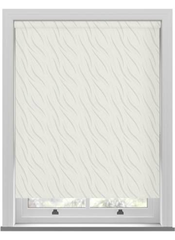Roller Blinds Luxari PVC Blackout White