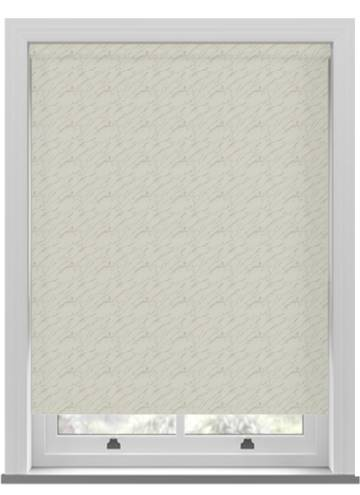 Roller Blinds Sahara PVC Blackout Chiffon Cream