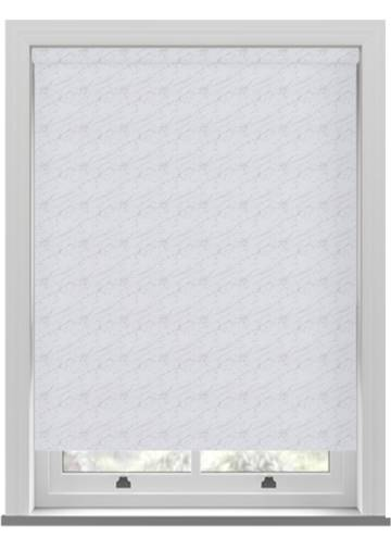 Roller Blinds Sahara PVC Blackout White