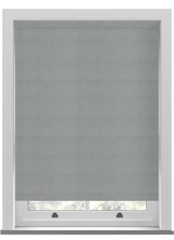 Roller Blinds Samba PVC Blackout Steel Grey